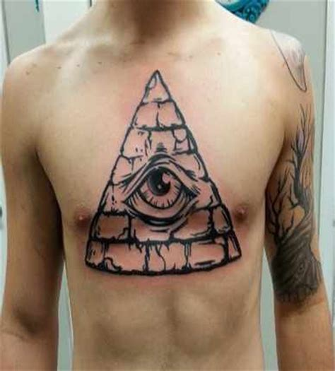 tattoo eye chest 22 illuminati eye tattoo pictures images and designs