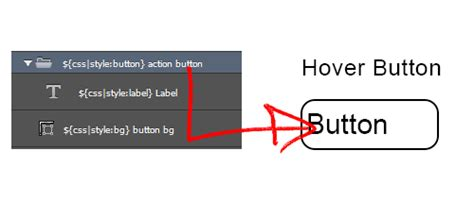 css how to make rollover buttons event button web buttons add css rollover hover effects export kit