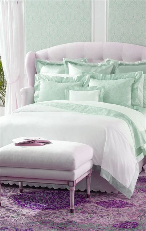 bedrooms decoration mint and lavender bedding lovely shabby chic pinterest