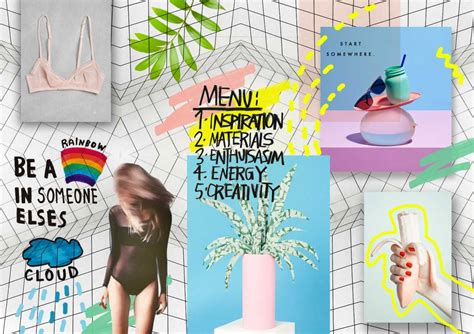 magazine layout board spring summer 15 design and fashion inspiration mood board