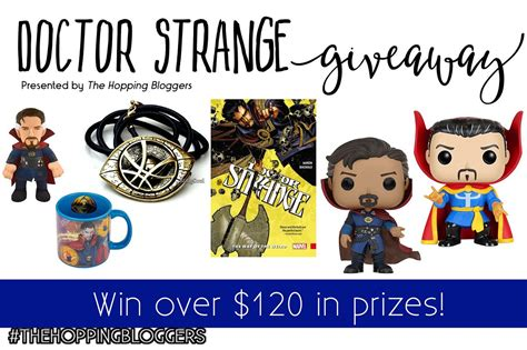 Doctors Giveaway - doctor strange prize pack giveaway ends 11 16 finding sanity in our crazy life