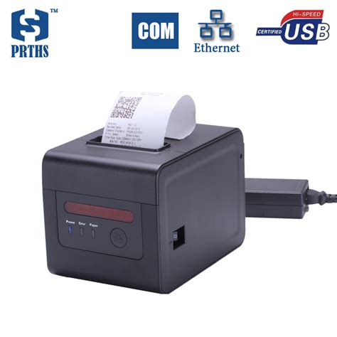 ᓂ80mm thermal kitchen printer with alarm alarm qr code