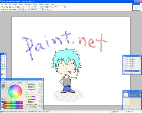 painting free version paint net free