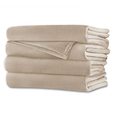 Sunbeam Therapedic Heated Blanket by Sunbeam 174 Royalmink Heated Blanket Sand