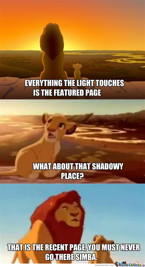 Lion King Shadowy Place Meme Generator - lion king meme shadowy place the best lion in 2018