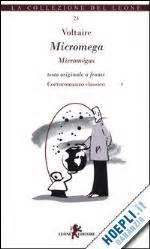libro le micromgas micromega micromegas voltaire leone libro hoepli it