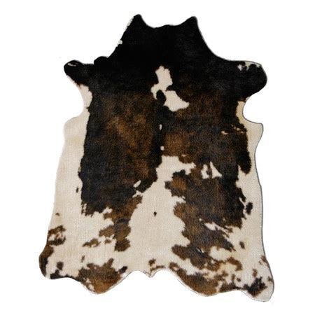 synthetic cowhide rug faux cowhide rug my home