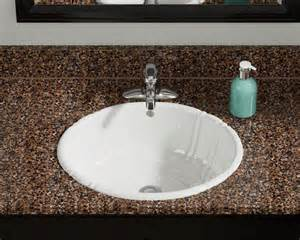 bathroom drop in sinks o1815 bisque bisque porcelain vessel drop in bathroom sink