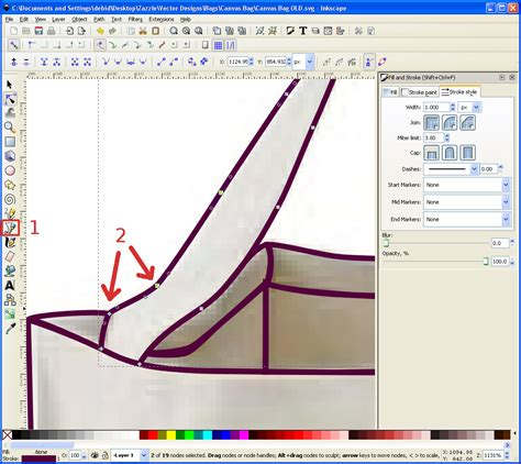 inkscape tutorial bezier curves clown fish cafe the further adventures of a vector