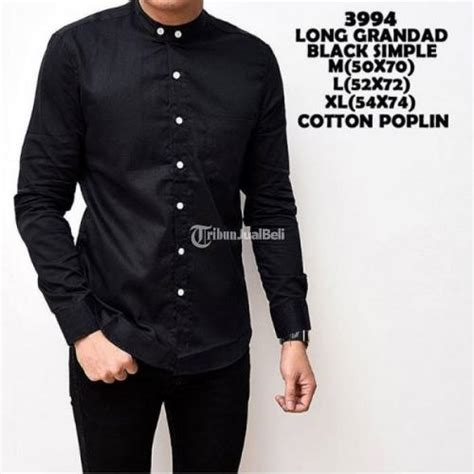 Kemeja Fashion Pria Slimfit Lengan Panjang Mfl02 Berkualitas kemeja pria lengan panjang polos warna hitam putih merah slim fit depok dijual tribun
