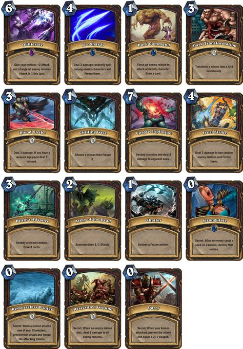 make hearthstone cards introducing the fan creations