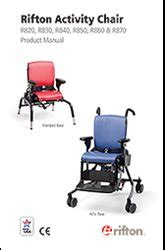 Rifton Activity Chair Order Form by Rifton Product Manual Listing