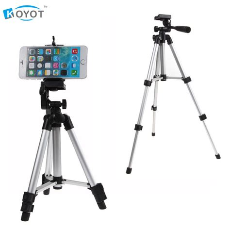 Tripod U Holder professional tripod mount stand holder for iphone samsung mobile phone in tripods from