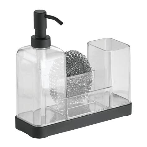 kitchen soap caddy organizer interdesign forma kitchen soap dispenser sponge