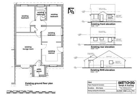 loft conversion floor plans exle loft conversion plan 4