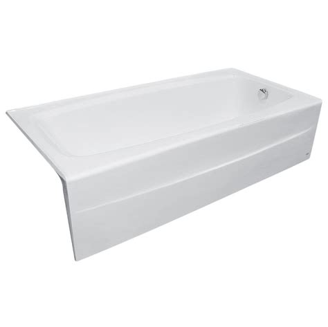 enameled cast iron bathtub faucet com 2696 102 020 in white by american standard