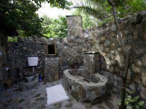 Outside Bathroom Ideas Home Interior Design Gallery Outdoor Bathroom Design 2010