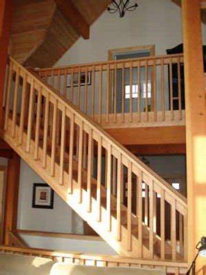 stair system tamlin homes timber frame home packages