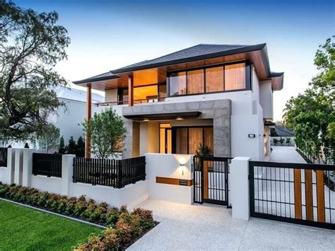 pilihan desain pagar rumah  halaman depan belakang