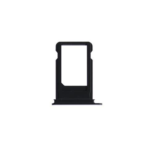 Nano Sim Tray Iphone iphone 7 plus jet black nano sim card tray fixez