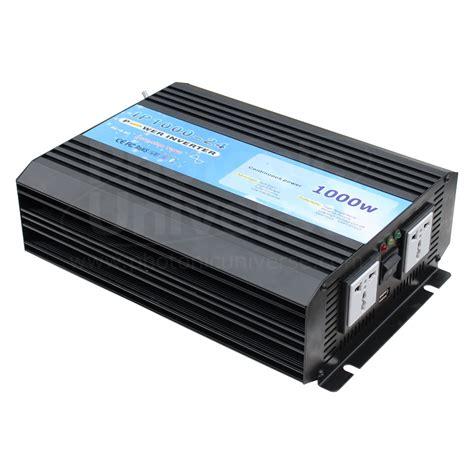 Inverter 24v 1000w peak 2000w sine wave power inverter 24v battery to 240v 1000 watt
