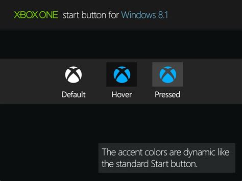 xbox themes for windows 8 1 xbox one start button for windows 8 1 by rexadde on deviantart