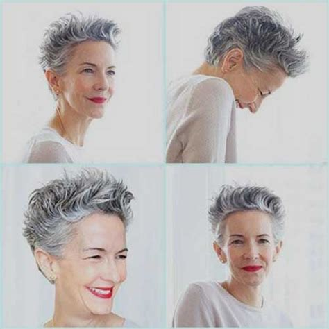 elderly hair styles with purpke 15 short pixie hairstyles for older women short pixie