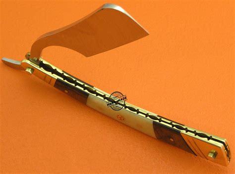 Handmade Razors - custom handmade knife damascus razor