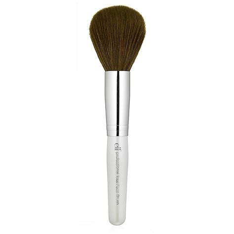 a brush with the total face brush e l f cosmetics