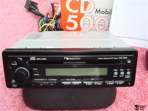 Nakamichi Cd 500 Headunit Sound Quality New Stock mobile receiver cd player nakamichi cd 500 photo 787514 canuck audio mart