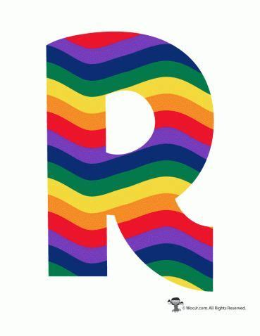 colored bubble letters rainbow alphabet printable letters adorable coloring