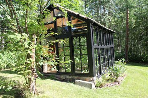 garage classy  windows  greenhouse plans black