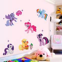 Pony Wall Stickers Hot Cartoon My Little Pony Wall Sticker Decals Kids