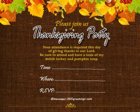 printable thanksgiving invitation cards thanksgiving invitations 365greetings com