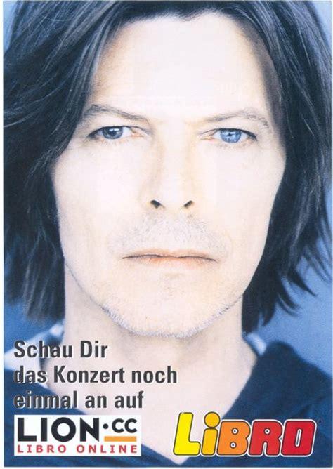 libro david bowie photographs by david bowie wonderworld the libro music hall vienna austria 17 10 99