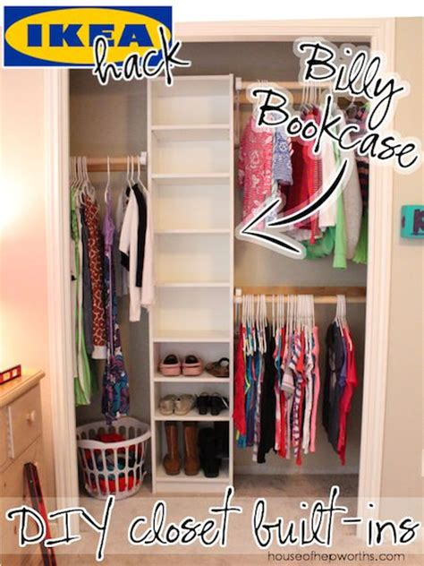 small closet hacks best 25 ikea closet hack ideas on pinterest ikea built