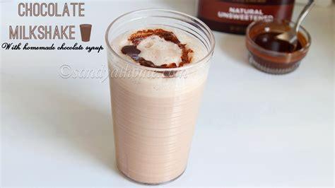 chocolate milkshake chocolate milkshake with