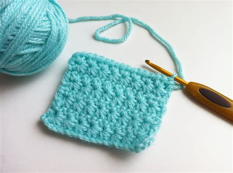 puntos de crochet estrella punto estrella star stitch