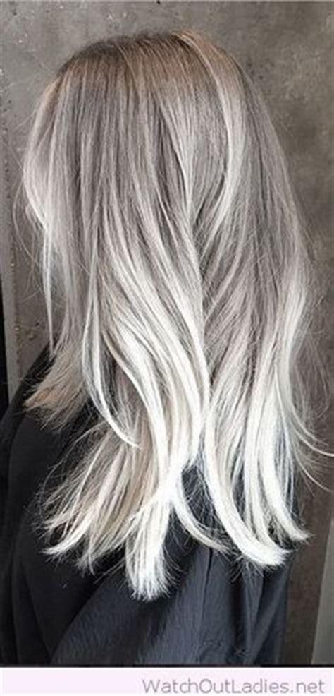 white hair black lowlights cold blonde grey hair google s 248 k hair pinterest