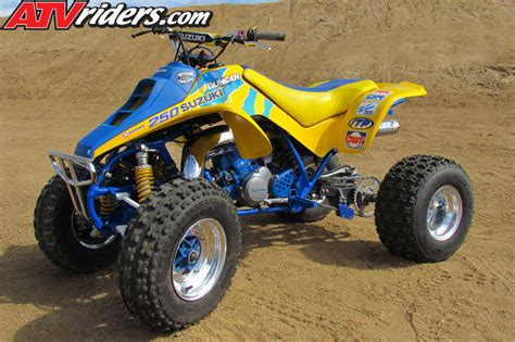 250r Suzuki Quadracer Suzuki Quadracer Lt 250r Atv Project Build Duncan Racing