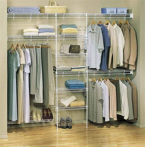 Bedroom Wall Closet Systems Closet Systems Closet Organizers Wire Closet Systems