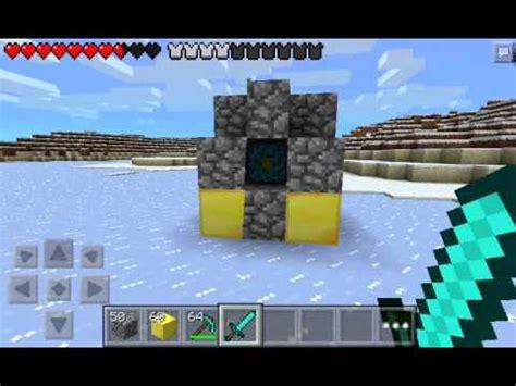 minecraft 0 8 1 apk como hacer portal al nether en minecraft pe 0 8 1