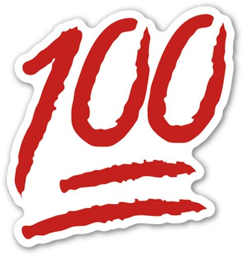 100 emoji tattoo the 100 stickers redbubble