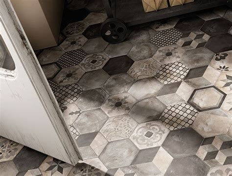 marca corona piastrelle piastrelle esagonali o a nido d ape per il bagno