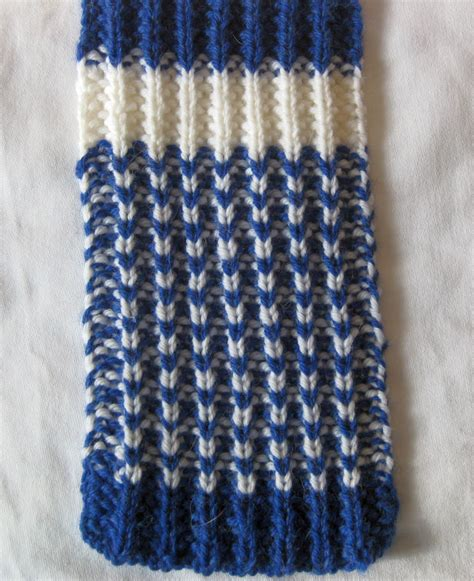 2 colour knitting two color knitting patterns scarf crochet and knit