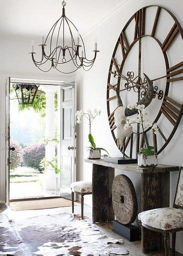 decorating tall walls 24 ideas on how to decorate tall walls oversized clocks