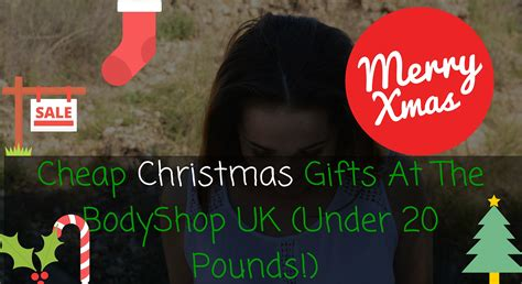 cheap christmas gifts at the bodyshop uk