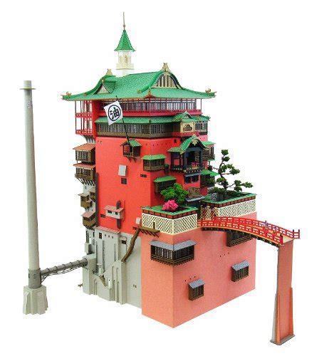 Ghibli Papercraft - 千と千尋の神隠し 油屋