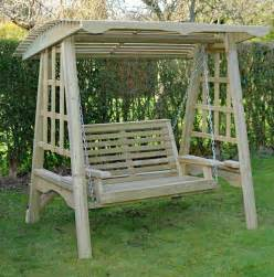 wooden patio swing garden swing wooden garden furniture wooden swing