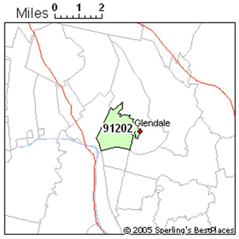 zip code map glendale ca best place to live in glendale zip 91202 california